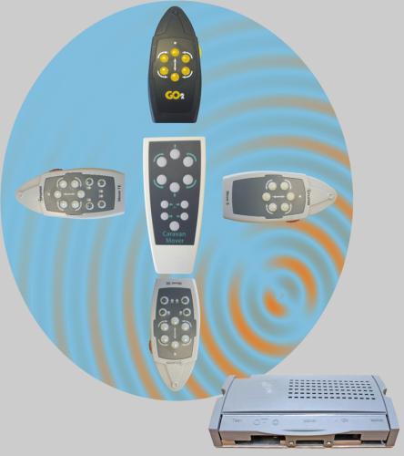 Caravan mover carver truma sales universal motor mover remote handset truma m2 compatible uh nrf905 asfbconference2016 Choice Image